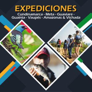Cundinamarca - Meta - Guaviare - Guainía - Vaupés - Amazonas & Vichada